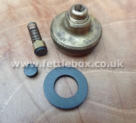 Svea 123/123R filler cap seal & safety valve pip.